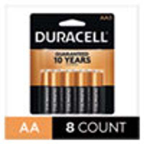 Duracell CopperTop Alkaline AA Batteries  8 Pack (DURMN1500B8Z)