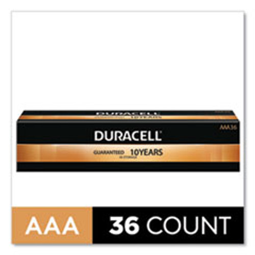 Duracell CopperTop Alkaline AAA Batteries  36 Pack (DURMN24P36)