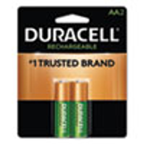 Duracell Rechargeable StayCharged NiMH Batteries  AA  2 Pack (DURNLAA2BCD)