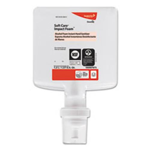 Diversey Soft Care Impact  Foam Hand Sanitizer  1200 mL  Cartridge  Alcohol  6 CT (DVO100907873)
