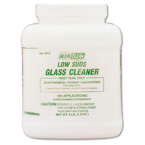 Diversey Beer Clean Glass Cleaner  Unscented  Powder  4 lb  Container (DVO990241)