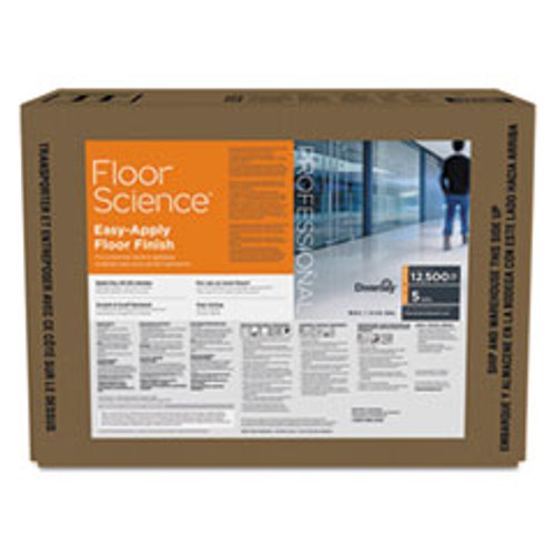 Diversey Floor Science Easy Apply Floor Finish  Ammonia Scent  5 gal Box (DVOCBD540403)