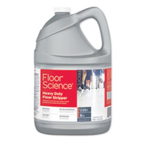 Diversey Floor Science Heavy Duty Floor Stripper  Liquid  1 gal Bottle  4 Carton (DVOCBD540434)