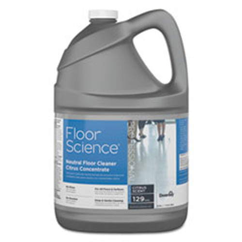 Diversey Floor Science Neutral Floor Cleaner Concentrate  Slight Scent  1 gal  4 Carton (DVOCBD540441)