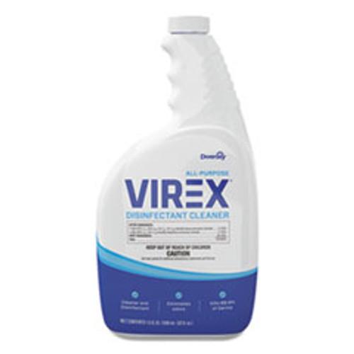 Diversey Virex All-Purpose Disinfectant Cleaner  Lemon Scent  32oz Spray Bottle  4 Carton (DVOCBD540540)