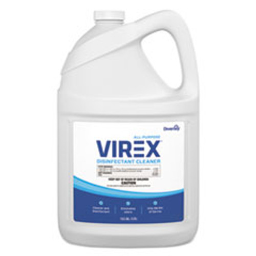 Diversey Virex All-Purpose Disinfectant Cleaner  Lemon Scent  1 gal Container  2 Carton (DVOCBD540557)