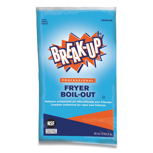 BREAK-UP Fryer Boil-Out  Ready to Use  2 oz Packet  36 Carton (DVOCBD991209)