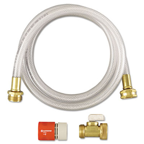 Diversey RTD Water Hook-Up Kit  Switch  On Off  3 8 dia x 5ft  12 Kits Carton (DVOD3191746)
