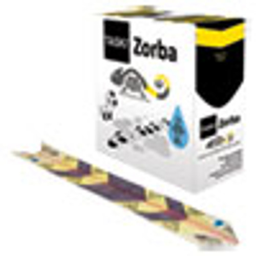Diversey Zorba Absorbent Control Strips  0 5 gal  4 7  x 23 6   50 Pack (DVOD7523269)