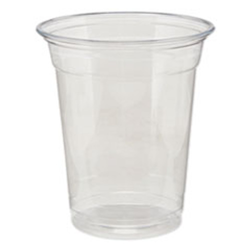 Dixie Clear Plastic PETE Cups  Cold  12oz  25 Sleeve  20 Sleeves Carton (DXECPET12DX)