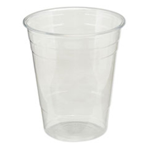 Dixie Clear Plastic PETE Cups  Cold  16oz  50 Sleeve  20 Sleeves Carton (DXECPET16)