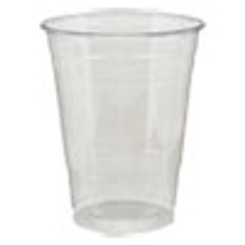 Dixie Clear Plastic PETE Cups  Cold  16oz  25 Sleeve  20 Sleeves Carton (DXECPET16DX)