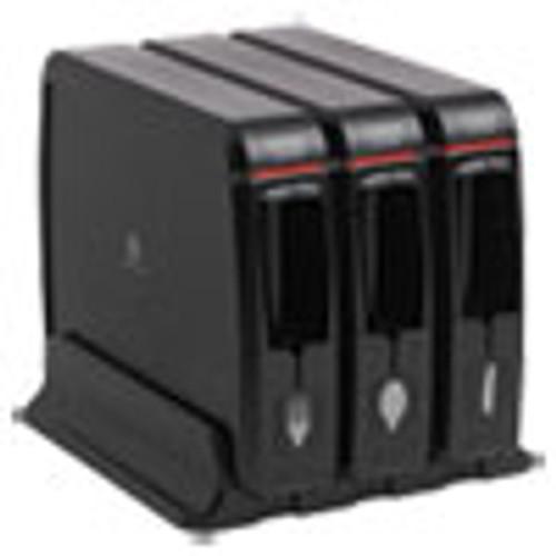 Dixie Ultra SmartStock Wrapped Cutlery Dispenser  12 44  x 11 17  x 10 1 2   Black (DXESSW3D85)