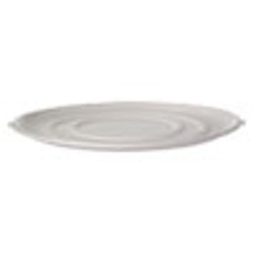 Eco-Products WorldView Sugarcane Pizza Trays  14 x 14 x 0 2  White  50 Carton (ECOEPSCPTR14)