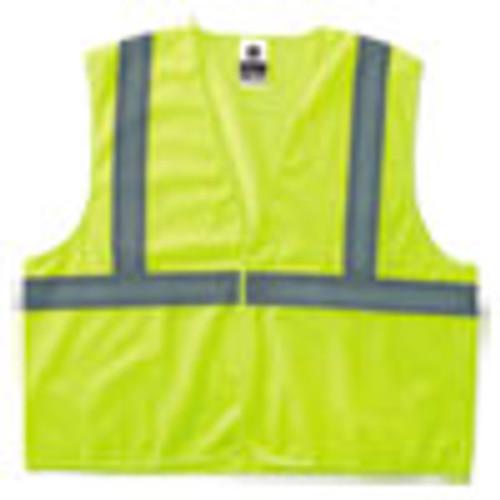 ergodyne GloWear 8205HL Type R Class 2 Super Econo Mesh Safety Vest  Lime  Small Medium (EGO20973)