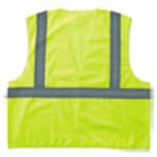 ergodyne GloWear 8205HL Type R Class 2 Super Econo Mesh Safety Vest  Lime  Large X-Large (EGO20975)