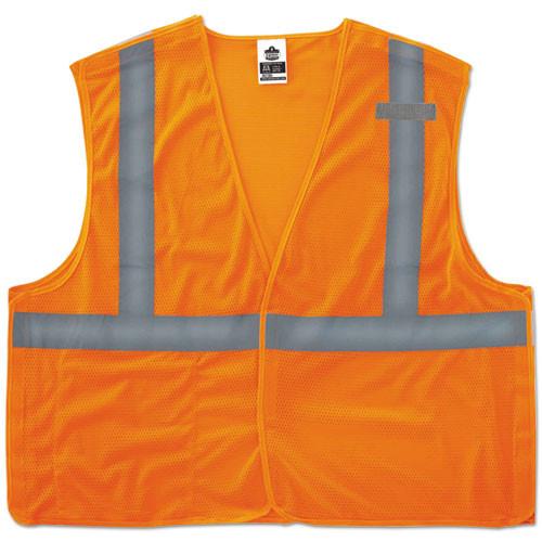 ergodyne GloWear 8215BA Type R Class 2 Econo Breakaway Mesh Vest  Orange  L XL (EGO21065)