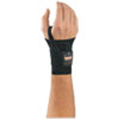 ergodyne ProFlex 4000 Wrist Support  Left-Hand  Large  7-8    Black (EGO70016)