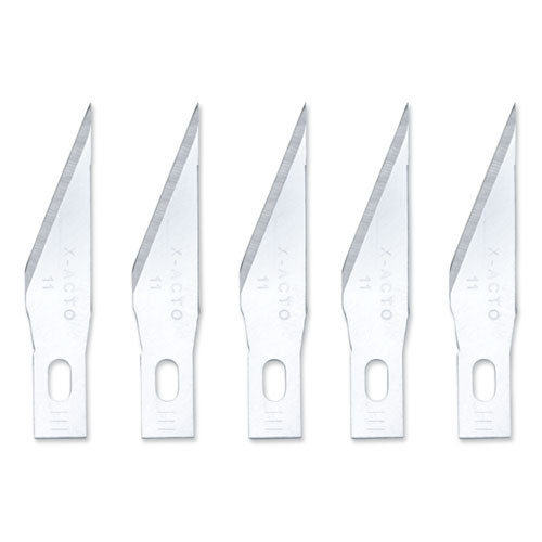 X-ACTO No  11 Bulk Pack Blades for X-Acto Knives  100 Box (EPIX611)