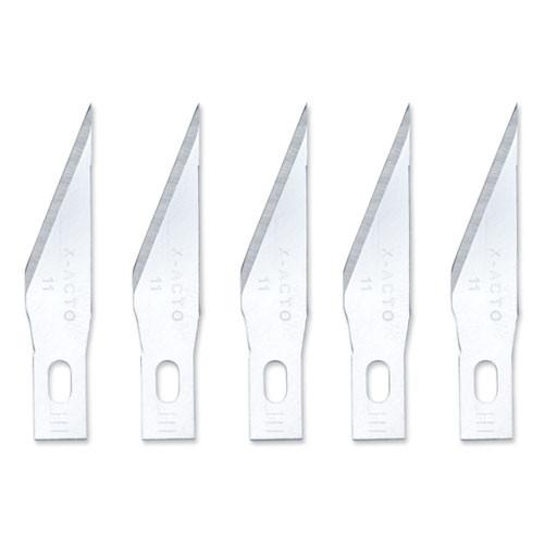 X-ACTO Z Series  11 Replacement Blades  5 Pack (EPIXZ211W)