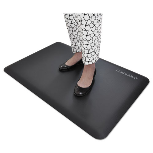 WorkFit by Ergotron WorkFit Anti-Fatigue Floor Mat  24 x 36  Black (ERG97620060)