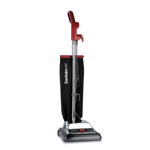 Sanitaire TRADITION QuietClean Upright Vacuum  18 lb  Gray Red Black (EURSC889B)