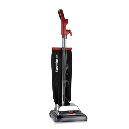 Sanitaire TRADITION QuietClean Upright Vacuum  18 lb  Gray Red Black (EURSC889B)