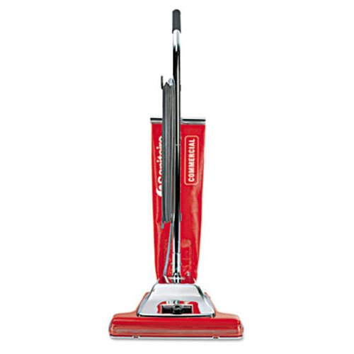 Sanitaire TRADITION Bagless Upright Vacuum  16  Wide Path  18 5 lb  Red (EURSC899H)
