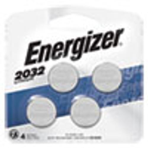 Energizer 2032 Lithium Coin Battery  3V  4 Pack (EVE2032BP4)