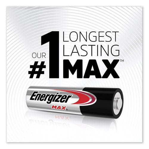 Energizer MAX Alkaline AA Batteries  1 5V  2 Pack (EVEE91BP2)