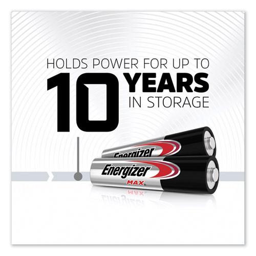 Energizer MAX Alkaline AAA Batteries  1 5V  8 Pack (EVEE92MP8)