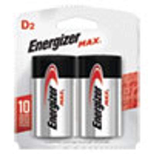 Energizer MAX Alkaline D Batteries  1 5V  2 Pack (EVEE95BP2)