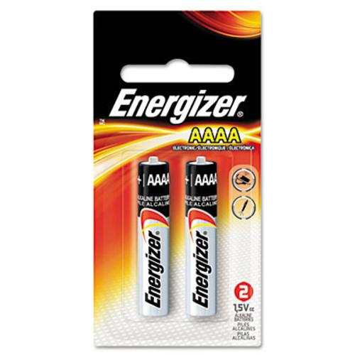 Energizer MAX Alkaline AAAA Batteries  1 5V  2 Pack (EVEE96BP2)