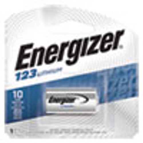 Energizer 123 Lithium Photo Battery  3V (EVEEL123APBP)
