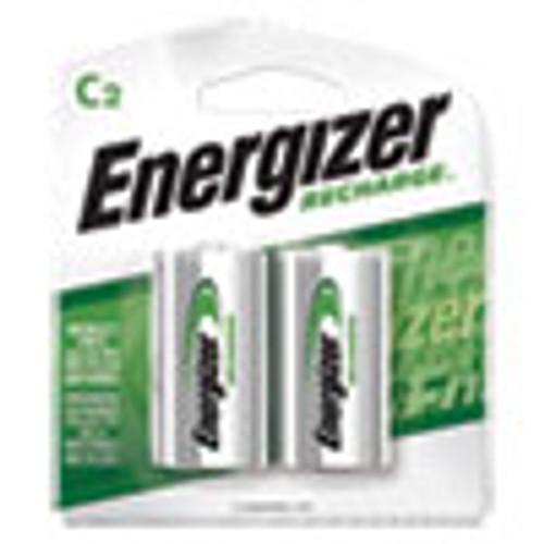 Energizer NiMH Rechargeable C Batteries  1 2V  2 Pack (EVENH35BP2)