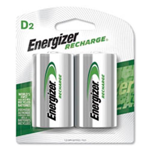 Energizer NiMH Rechargeable D Batteries  1 2V  2 Pack (EVENH50BP2)