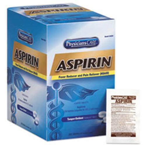 PhysiciansCare Aspirin Tablets  250 Doses per box (FAO54034)