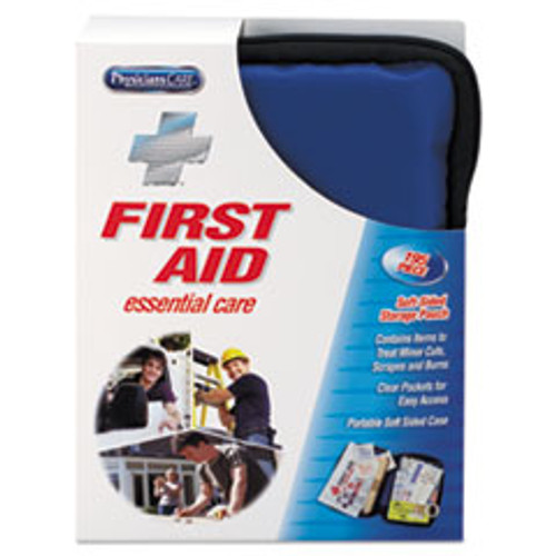 PhysiciansCare by First Aid Only Soft-Sided First Aid Kit for up to 25 People  195 Pieces Kit (FAO90167)