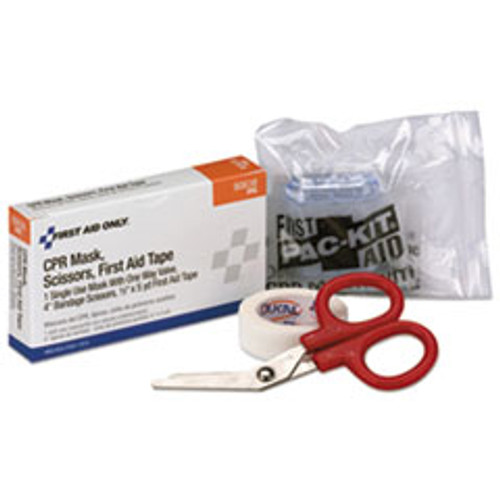 First Aid Only 24 Unit ANSI Class A  Refill  CPR Breather  Scissors  Tape (FAO90638)