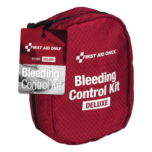 First Aid Only Deluxe Bleeding Control Kit  5 x 3 5 x 7 (FAO91060)
