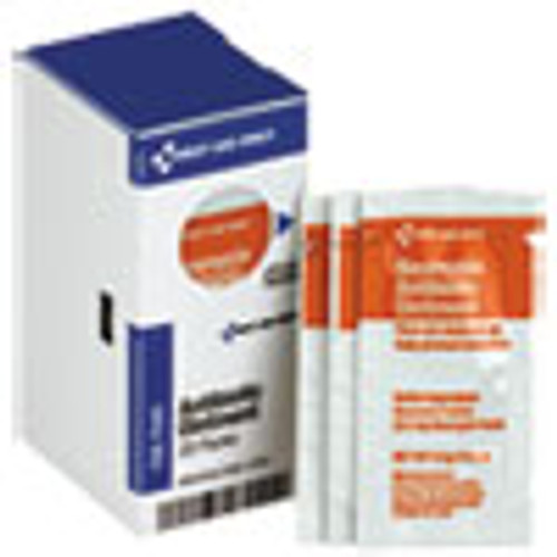 First Aid Only Refill for SmartCompliance Gen Cabinet  Antibiotic Ointment  0 9g Packet  20 Bx (FAOFAE7040)
