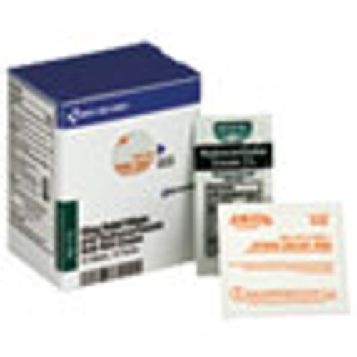 First Aid Only Refill f SmartCompliance Cabinet 20 Sting Relief Wipes 10 Hydrocortisone Packs (FAOFAE7115)