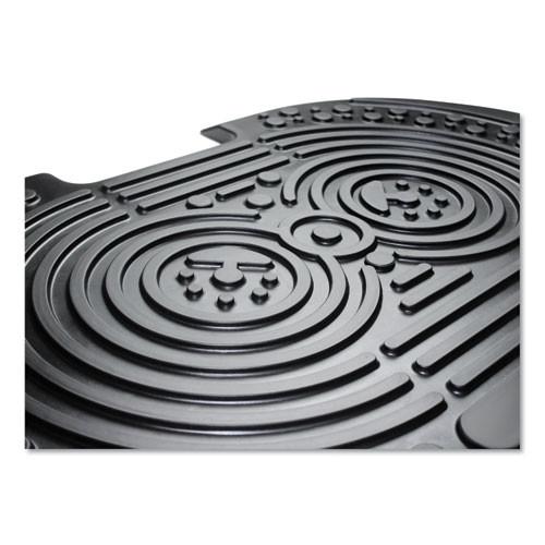 Floortex AFS-TEX 2000X Anti-Fatigue Mat  Bespoke  16 x 24  Black (FLRFCA21624XBK)