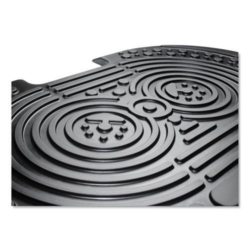 Floortex AFS-TEX 2000X Anti-Fatigue Mat  Bespoke  20 x 32  Black (FLRFCA22032XBK)