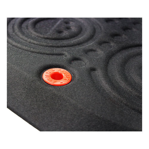 Floortex AFS-TEX 3000X Anti-Fatigue Mat  Rectangular  20 x 39  Black (FLRFCA32039XBM)