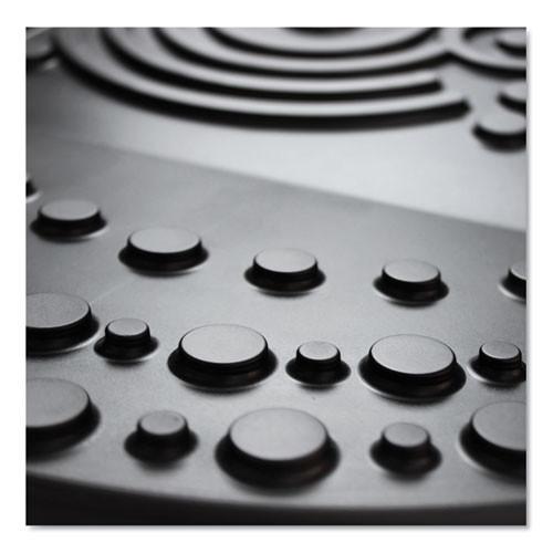 Floortex AFS-TEX 4000 Anti-Fatigue Mat  Rectangular  20 x 30  Black (FLRFCA42030XBK)