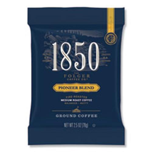 1850 Coffee Fraction Packs  Pioneer Blend  Medium Roast  2 5 oz Pack  24 Packs Carton (FOL21511)