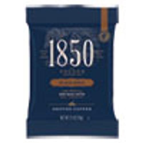 1850 Coffee Fraction Packs  Black Gold  Dark Roast  2 5 oz Pack  24 Packs Carton (FOL21512)