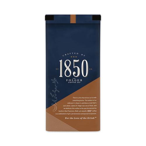 1850 Coffee  Pioneer Blend  Medium Roast  Ground  12 oz Bag (FOL60514EA)