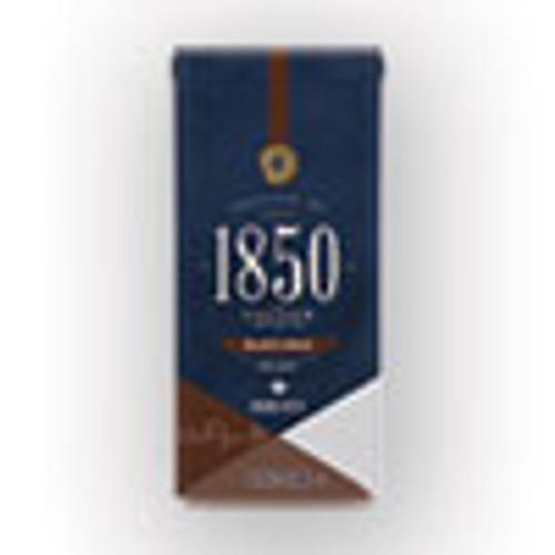 1850 Coffee  Black Gold  Dark Roast  Ground  12 oz Bag  6 Carton (FOL60516)